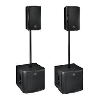 KIT HP TECHNOVOICE  2 TOP - 2 SUB